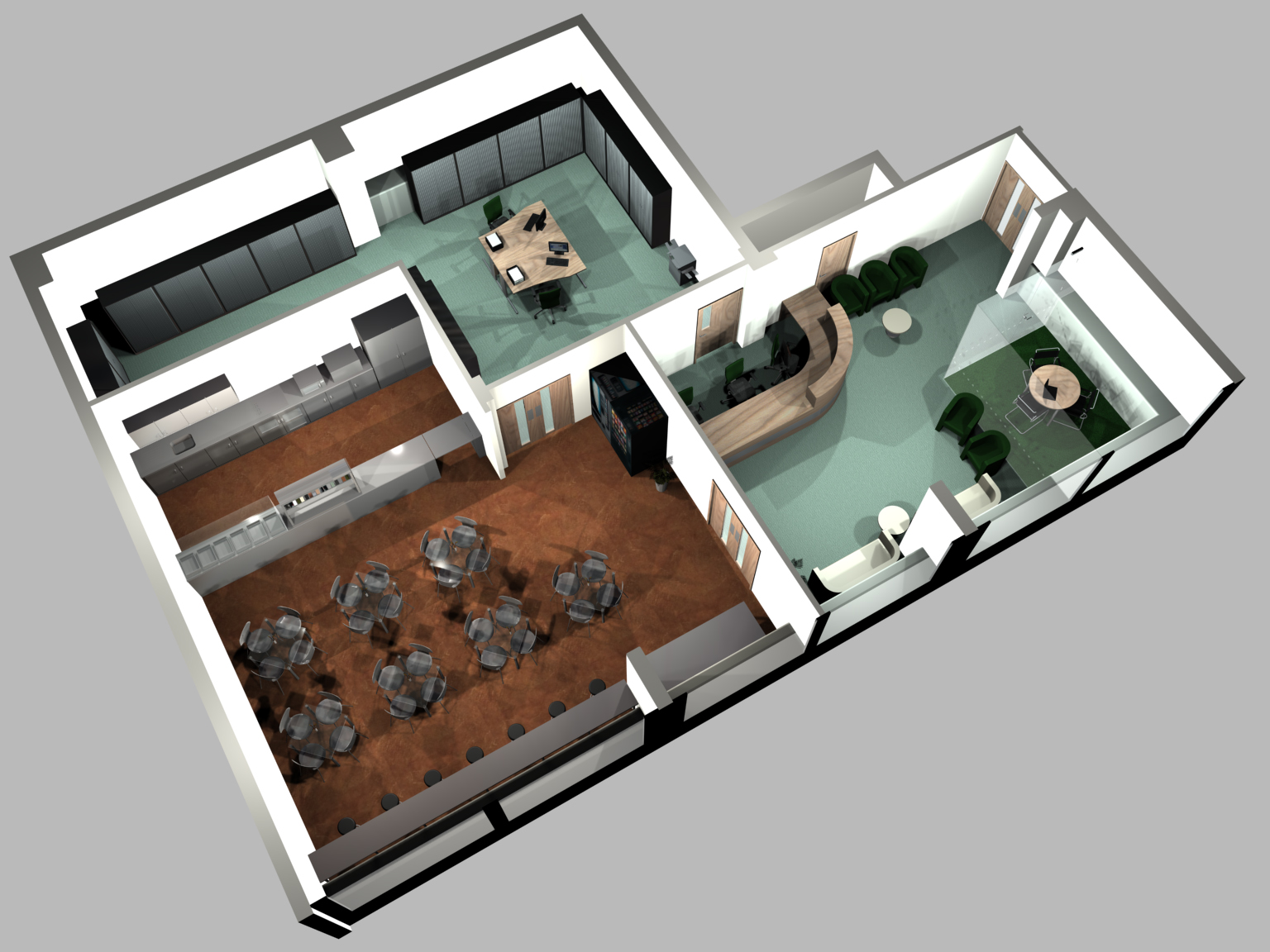 Services space planning uk for 3d office planner