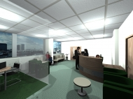 3d view of reception