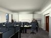 3d render of office refurbishment